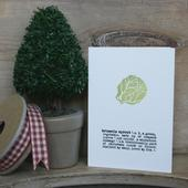 brussels sprout card